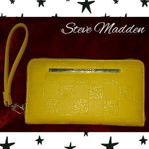 Steve Madden Yellow Full Size Wallet